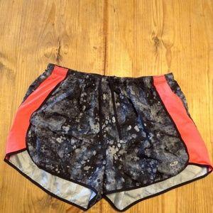 Grey and Black Athletic Shorts